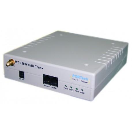 Portech MT-350 1x GSM 1x FXS 1x FXO Gateway