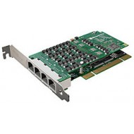(A101DE) AFT card supporting single T1/E1 or fractional T1/E1 data  PCIe + HW EC