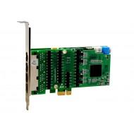 OpenVox DE830E T1/E1/J1 PCI-E kártyája T1/E1/J1 PCI-E kártyája