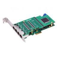 ATCOM AXE4DL 4x E1/T1/J1 négy portos PCI Express kártya