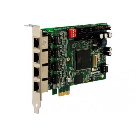 OpenVox B400E 4 x  S/T BRI kártya