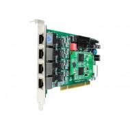 OpenVox BE400P 4 x S/T BRI k'rtya