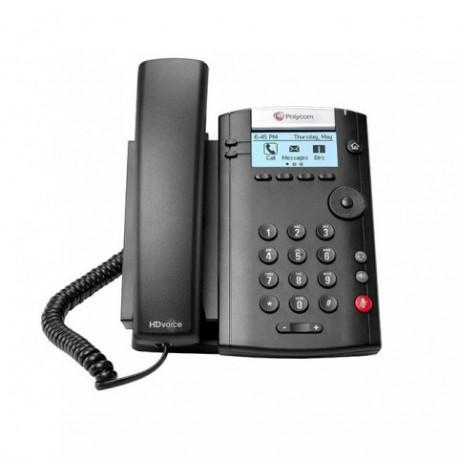 POLYCOM VVX201 DESKTOP PHONE DUAL ETHERNET 10/100 MBIT ETHERNET POE 2200-40450-025