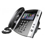 POLYCOM VVX600 DESKTOP PHONE SKYPE FOR BUSINESS (LYNC) HD VOICE 2200-44600-018