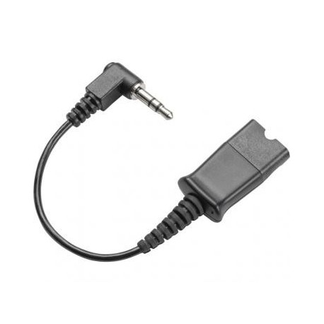 PLANTRONICS CABLE, 3,5MM TO QD WITH CALL ACCEPT 38324-01