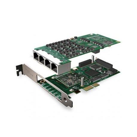 SANGOMA A108DE 8 PORTS PRI PCIE + HW EC