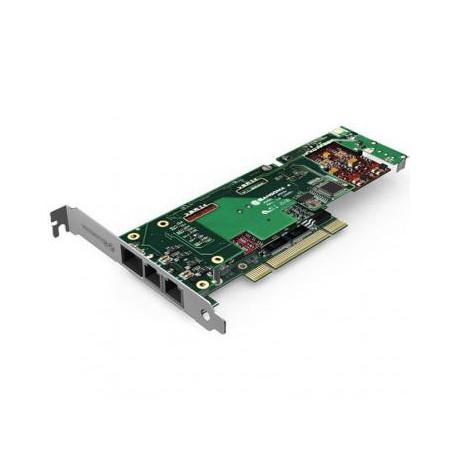 SANGOMA B710001D 2 PORTS BRI + 2 PORTS FXO PCI + HW EC