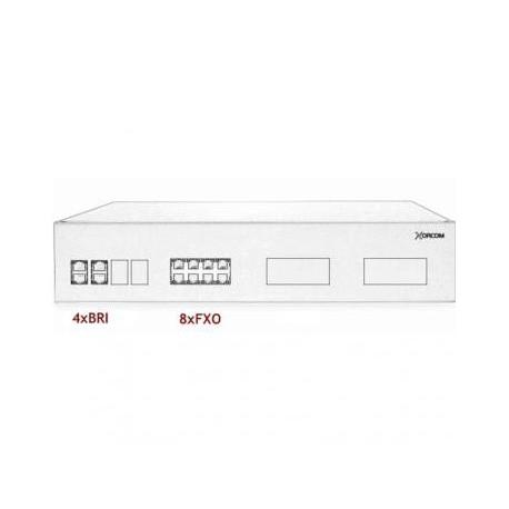 XORCOM IP PBX - 4 BRI + 8 FXO - XR3093
