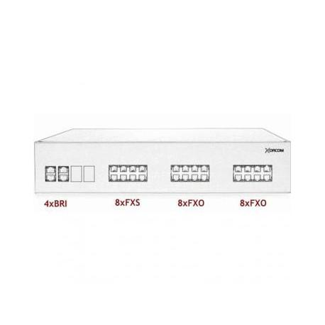 XORCOM IP PBX - 4 BRI + 8 FXS + 16 FXO - XR3097