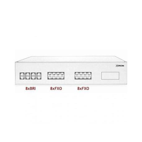 XORCOM IP PBX - 8 BRI + 16 FXO - XR3100