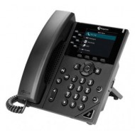 POLYCOM VVX 350 IP PHONE POE 2200-48830-025 TÁPEGYSÉG NÉLKÜL