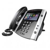 POLYCOM VVX601 IP PHONE POE 2200-48600-025 TÁPEGYSÉG NÉLKÜL