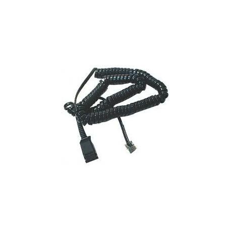 Plantronics Cable Zip RJ11 to stereo plug 63731-01