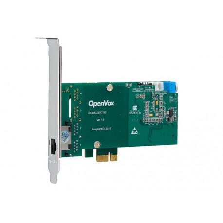 OpenVox DE130E egy portos T1/E1/J1 PCI-E kártya