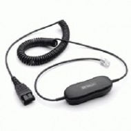 JABRA QD SMART CORD STRAIGHT, QD TO RJ10 88011-99