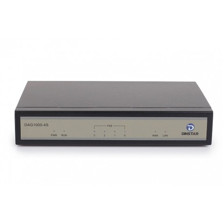 DAG1000-4S4O FXS/FXO Mixed Analog VoIP Gateway