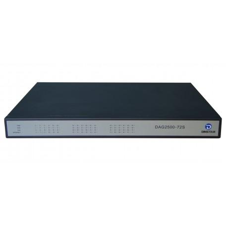 DAG2500-64S FXS Analog VoIP Gateway