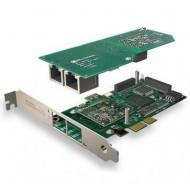 SANGOMA A102DE 2 PORTS PRI PCIE + HW EC