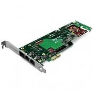 SANGOMA B710100DE 2 PORTS BRI + 2 PORTS FXS PCIE + HW EC