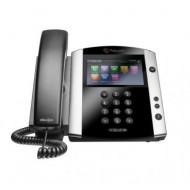 POLYCOM VVX600 IP PHONE POE 2200-44600-025 TÁPEGYSÉG NÉLKÜL