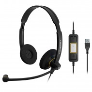 SENNHEISER SC60 HEADSET DUO USB SKYPE FOR BUSINESS 504547