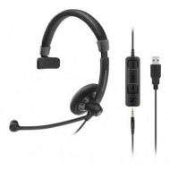 SENNHEISER SC45 HEADSET MONO USB 3.5MM JACK 507084