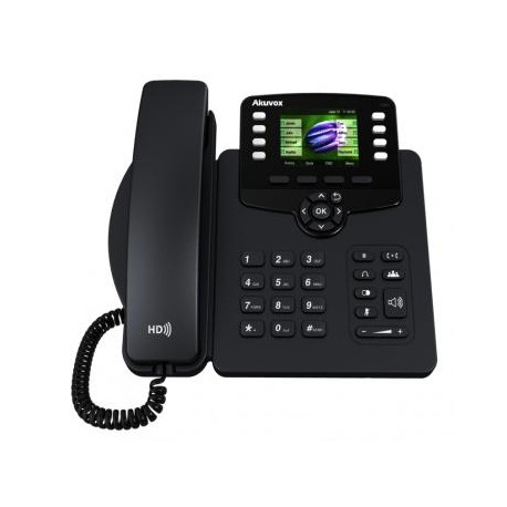AKUVOX SP-R63G IP PHONE COLOR POE GIGABIT